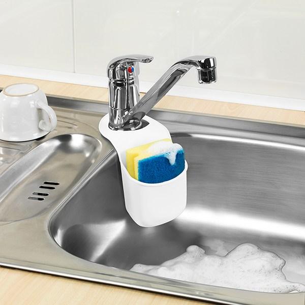 Rangement pour ponge et savon egouttoir vaisselle for Rangement savon