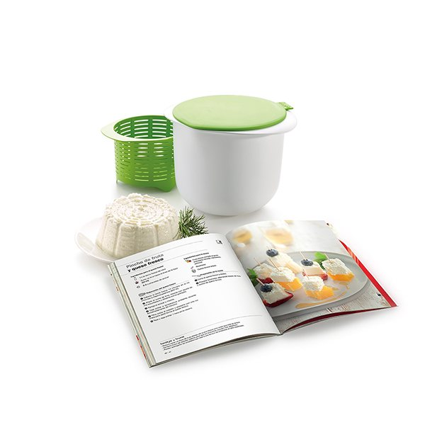 kit fromage frais maison et livre de recettes cheese maker lekue yaourti res et fromag res. Black Bedroom Furniture Sets. Home Design Ideas