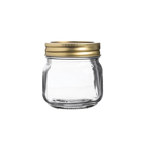 Bocal de conservation et presse agrume en verre Kilner