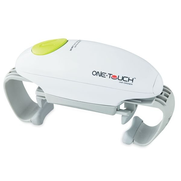 Ouvre-bocal automatique One Touch blanc One Touch zoom