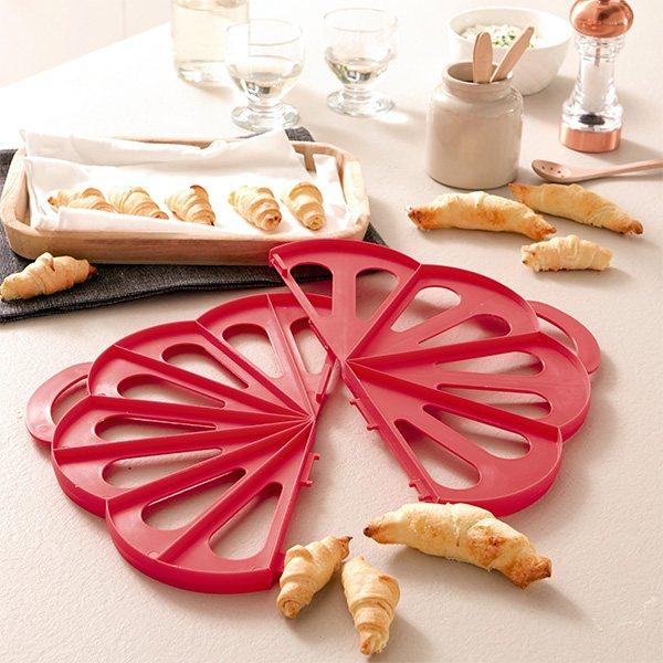 Acheter Authentic couleurs et frappant marque populaire Découpoir à croissants fourrés 2 en 1