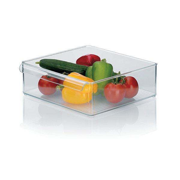 Bo te de rangement r frig rateur rectangulaire 30 x 30 x for Boite ustensile cuisine
