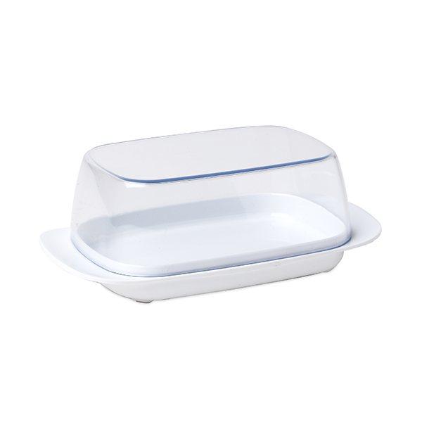 Beurrier pour beurre 250 g blanc rosti mepal bo tes et for Boite ustensile cuisine