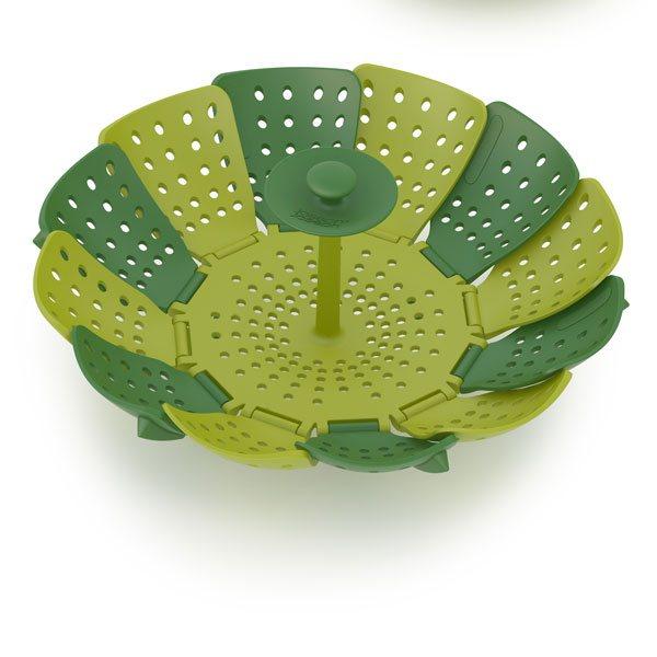 panier vapeur lotus plus 14 cm joseph joseph cuisson la vapeur mat riel de cuisson. Black Bedroom Furniture Sets. Home Design Ideas
