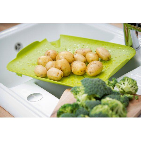 Planche passoire verte passoires chinois et tamis ustensiles de cuisine - Ustensile de cuisine un chinois ...