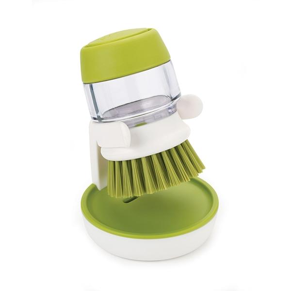 brosse r servoir vaisselle palm scrub joseph joseph egouttoir vaisselle accessoires vier. Black Bedroom Furniture Sets. Home Design Ideas