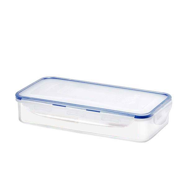 Bo te rectangulaire 4 compartiments 1 6 l bo tes et for Boite ustensile cuisine