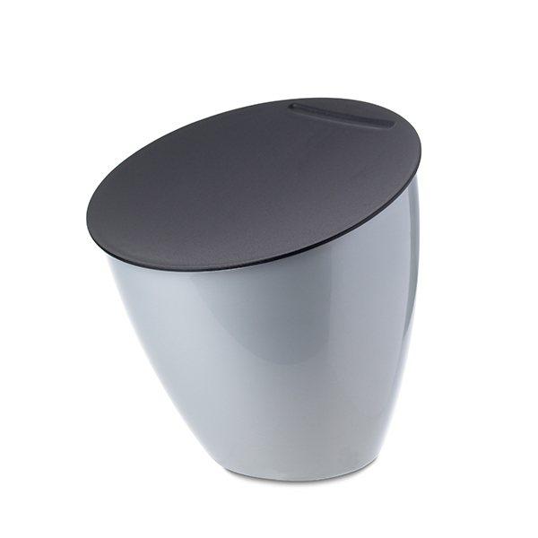 poubelle de table calypso argent mepal poubelles de. Black Bedroom Furniture Sets. Home Design Ideas