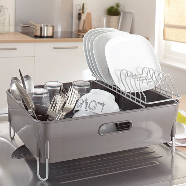 Grand egouttoir vaisselle beautiful lifewit gouttoir de - Egouttoir vaisselle gifi ...