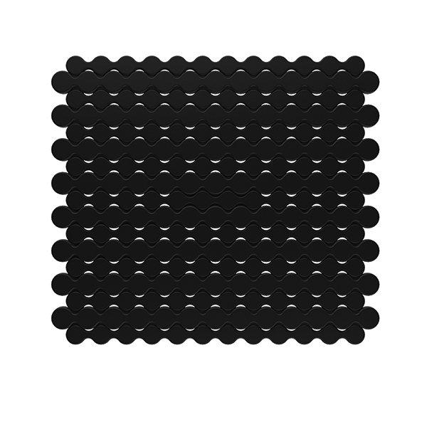 tapis fond evier noir egouttoir vaisselle accessoires. Black Bedroom Furniture Sets. Home Design Ideas