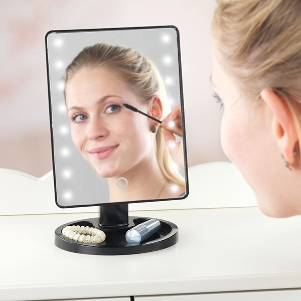 miroir de maquillage led am nagement de la salle de bain