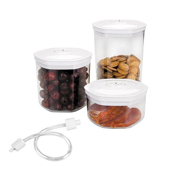 3 bo tes pour appareil sous vide conservation sous vide for Boite ustensile cuisine
