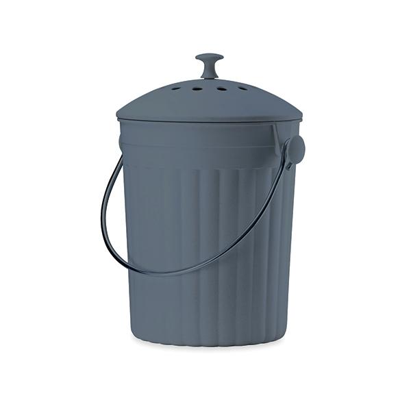 seau compost avec filtre charbon poubelles de cuisine et de salle de bain organisation. Black Bedroom Furniture Sets. Home Design Ideas