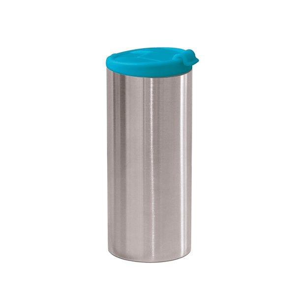 Mug Paroi Inox 35 Isotherme Bleu Cl Double DIWEH9Y2