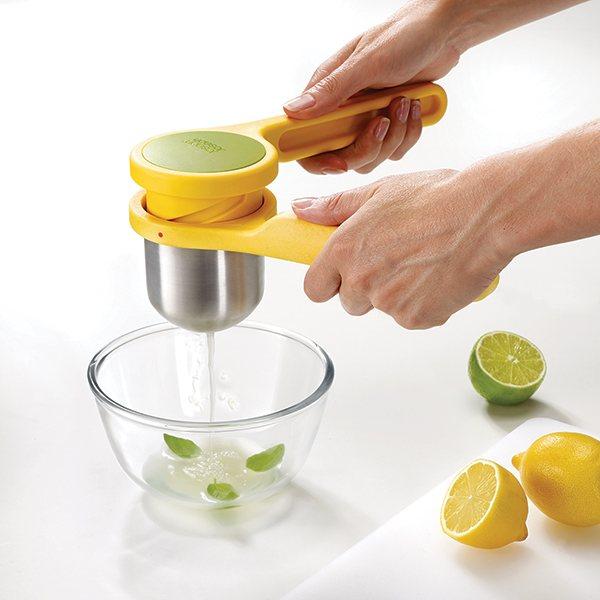 Hand Held Citron Presse-fruits presse agrume vert 19 cm Plastique Solide Nourriture Prep