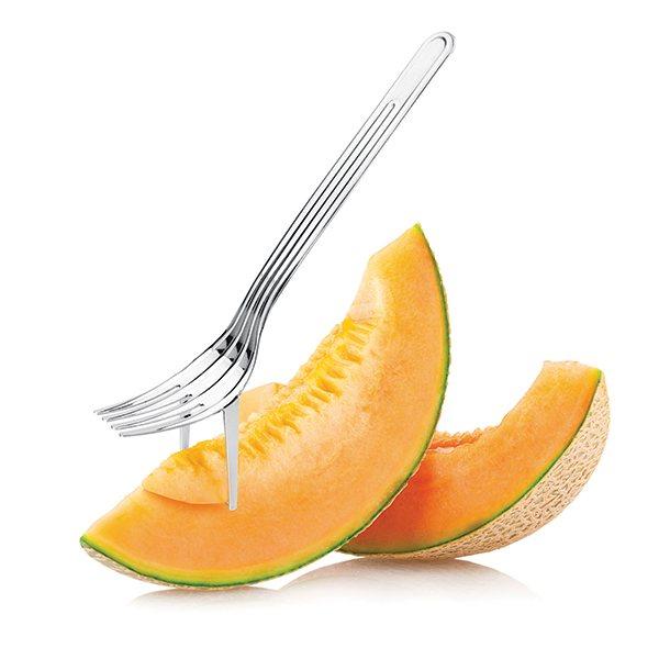 Fourchette melon en inox ustensiles pour agrumes fruits l gumes ustensiles de cuisine - Ustensile pour couper les legumes ...