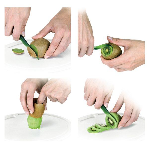 Eplucheur et coupe kiwi presto coupe fruits herbes et - Decoupe legumes coupe legumes oignons et fruits ...