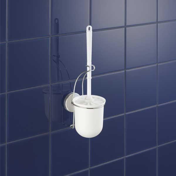 Support brosse pour toilettes vacuum loc am nagement de la salle de bain - Brosse pour toilette ...