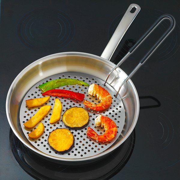 Panier de friture wenko accessoires de cuisson for Materiel de cuisson