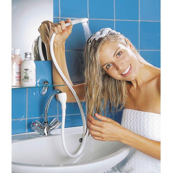 douchette pour lavabo 1 15 m am nagement de la salle de bain am nagement. Black Bedroom Furniture Sets. Home Design Ideas