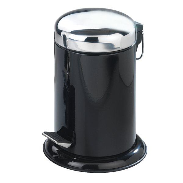 Poubelle P Dale Inox Retoro Noir 3 L Am Nagement De La