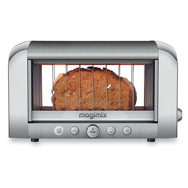 Toaster Vision Panoramique chrome 11538 Magimix zoom