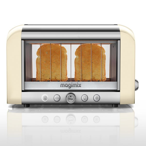 Toaster vision panoramique Ivoire 11539 Magimix zoom