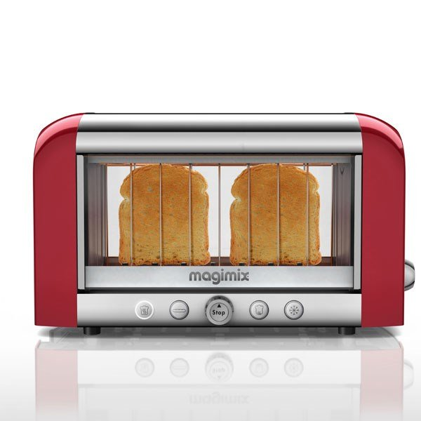 Toaster vision panoramique Rouge 11540 Magimix zoom