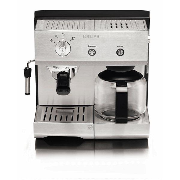 cafeti re combine espresso manuel inox 1 4 l xp224010. Black Bedroom Furniture Sets. Home Design Ideas