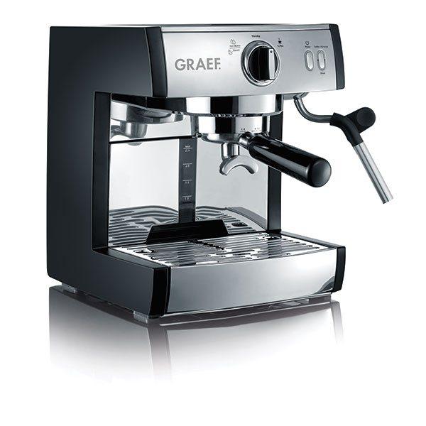 cafeti re caf espresso multi dosettes pivalla graef cafeti res lectriques petit. Black Bedroom Furniture Sets. Home Design Ideas