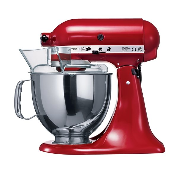 robot multifonctions artisan rouge empire kitchenaid - robots de