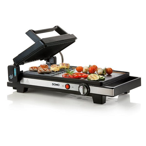 Plancha grill 3 en 1 2200 W DO9238G Domo zoom