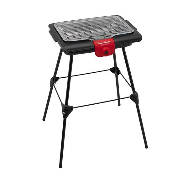 barbecue lectrique sur pieds accessimo 2100 w moulinex barbecue et planchas mat riel de. Black Bedroom Furniture Sets. Home Design Ideas