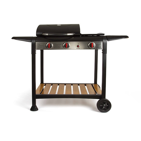 barbecue gaz grille et plancha doc208 livoo. Black Bedroom Furniture Sets. Home Design Ideas