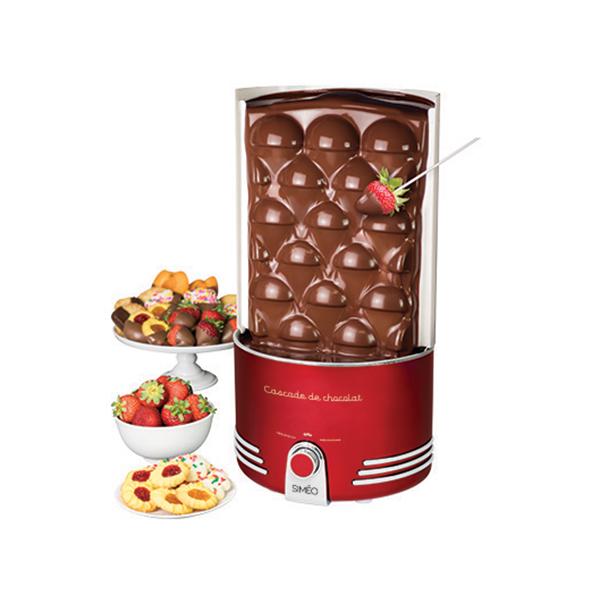 Cascade de chocolat r tro s rie 360 w simeo raclettes for Cuisine conviviale appareil