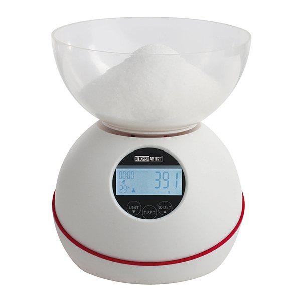 balance de cuisine lectronique 5 kg avec bol balances et doseurs de cuisine ustensiles de. Black Bedroom Furniture Sets. Home Design Ideas