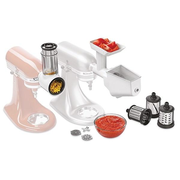 kit 3 accessoires pour robot artisan 5ksmfppc kitchenaid accessoires robots de cuisine petit. Black Bedroom Furniture Sets. Home Design Ideas