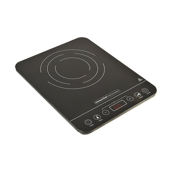 Plaques induction ultra fine 1 foyers 2000 w kitchen chef professional plaques et grilles de - Plaque induction un feu ...