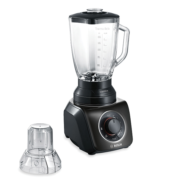 blender silentmixx noir 700w avec hachoir bosh bosch. Black Bedroom Furniture Sets. Home Design Ideas