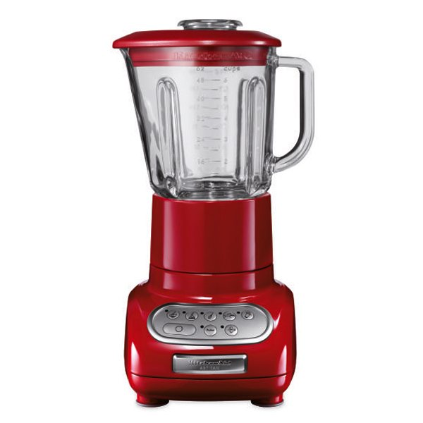 blender artisan 38 5 cm 550 w et 2 bols 1 5 l et 0 75 l rouge kitchenaid blenders et presse. Black Bedroom Furniture Sets. Home Design Ideas