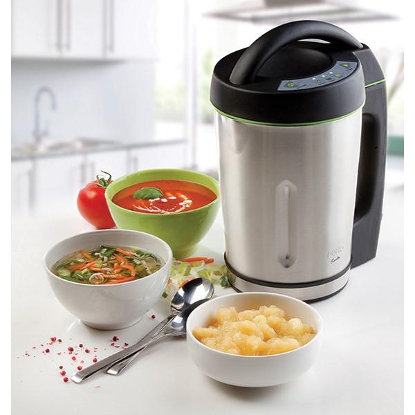 mixeur soupe soup maker 1 6 l 1000 w domo mixeurs et batteurs petit lectrom nager. Black Bedroom Furniture Sets. Home Design Ideas