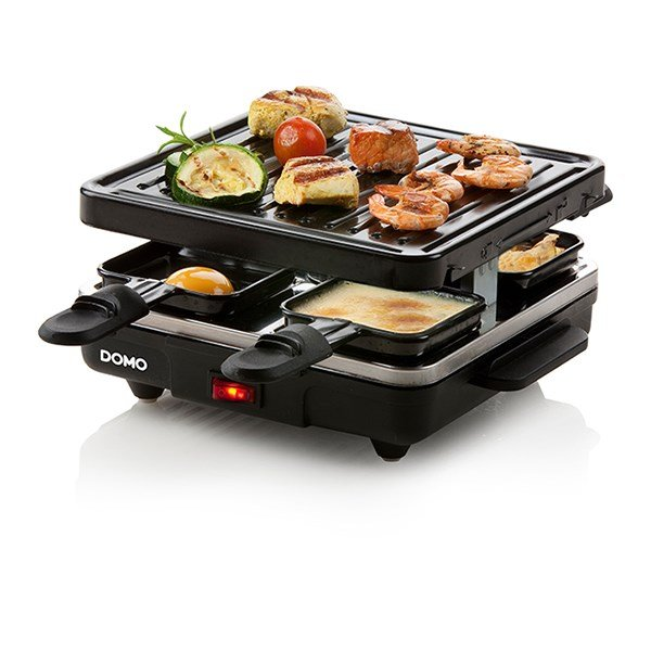 Raclette-grill 4 personnes 600 W DO9147G Domo zoom