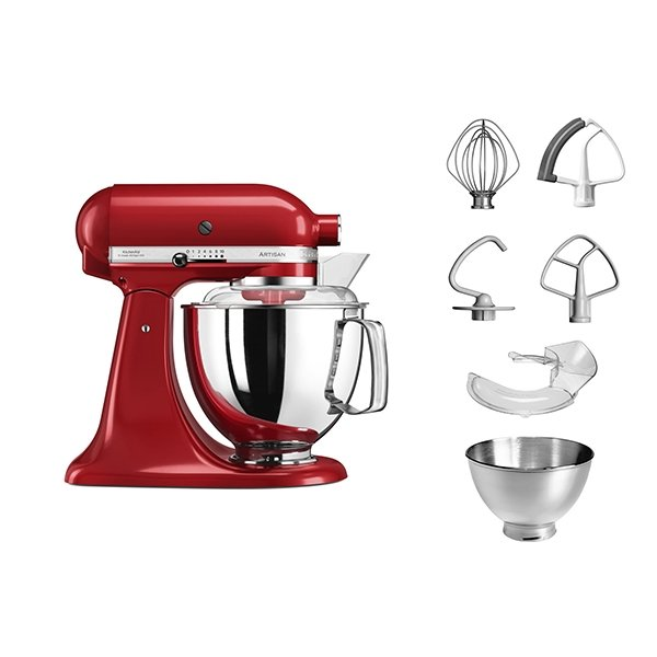 Robot artisan Rouge Empire 5KSM175PS Kitchenaid zoom