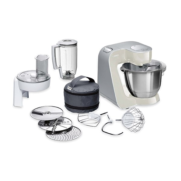 Robot multifonctions Kitchen Machine MUM5 1000 W gris MUM58L20 Bosch zoom