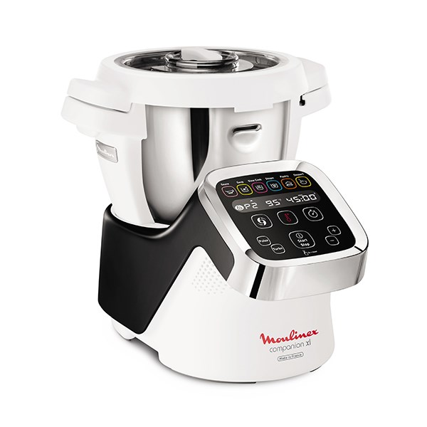 robot multifonctions companion xl 4 5 l noir hf805810 moulinex robots de cuisine. Black Bedroom Furniture Sets. Home Design Ideas