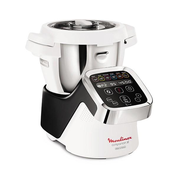 Robot multifonctions companion xl 4 5 l noir hf805810 for Robot cuisine multifonction moulinex