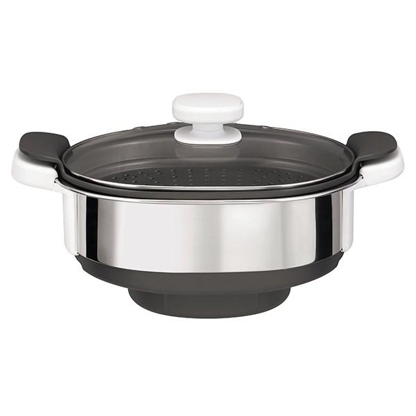 cuiseur vapeur pour robot companion xf384b10 moulinex. Black Bedroom Furniture Sets. Home Design Ideas