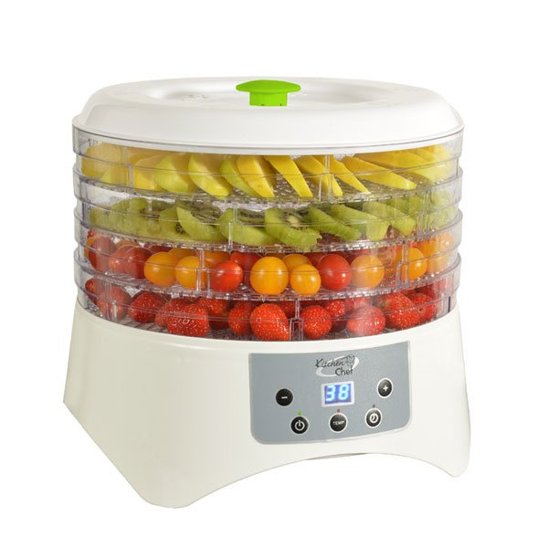 deshydrateur aliments 5 plateaux 400 w kitchen chef. Black Bedroom Furniture Sets. Home Design Ideas