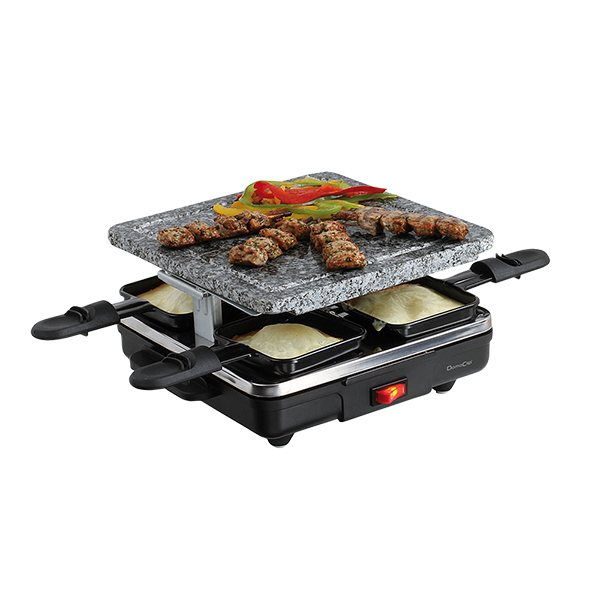 appareil raclette 4 personnes domoclip raclettes fondues et cuisine conviviale petit. Black Bedroom Furniture Sets. Home Design Ideas