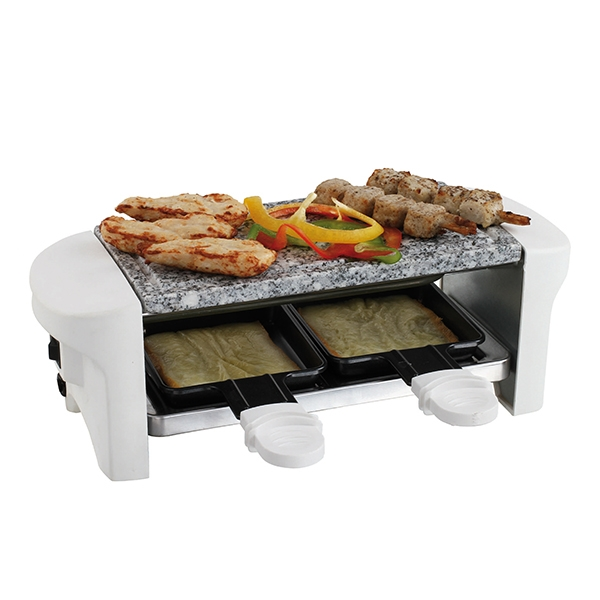 appareil raclette 2 personnes blanc domoclip raclettes fondues et cuisine conviviale. Black Bedroom Furniture Sets. Home Design Ideas